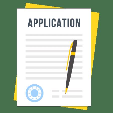 real estate license application